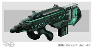 Rifle concept art