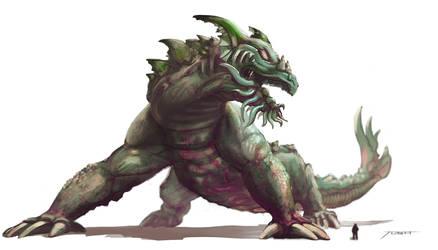 Creature Concept by JoshCalloway