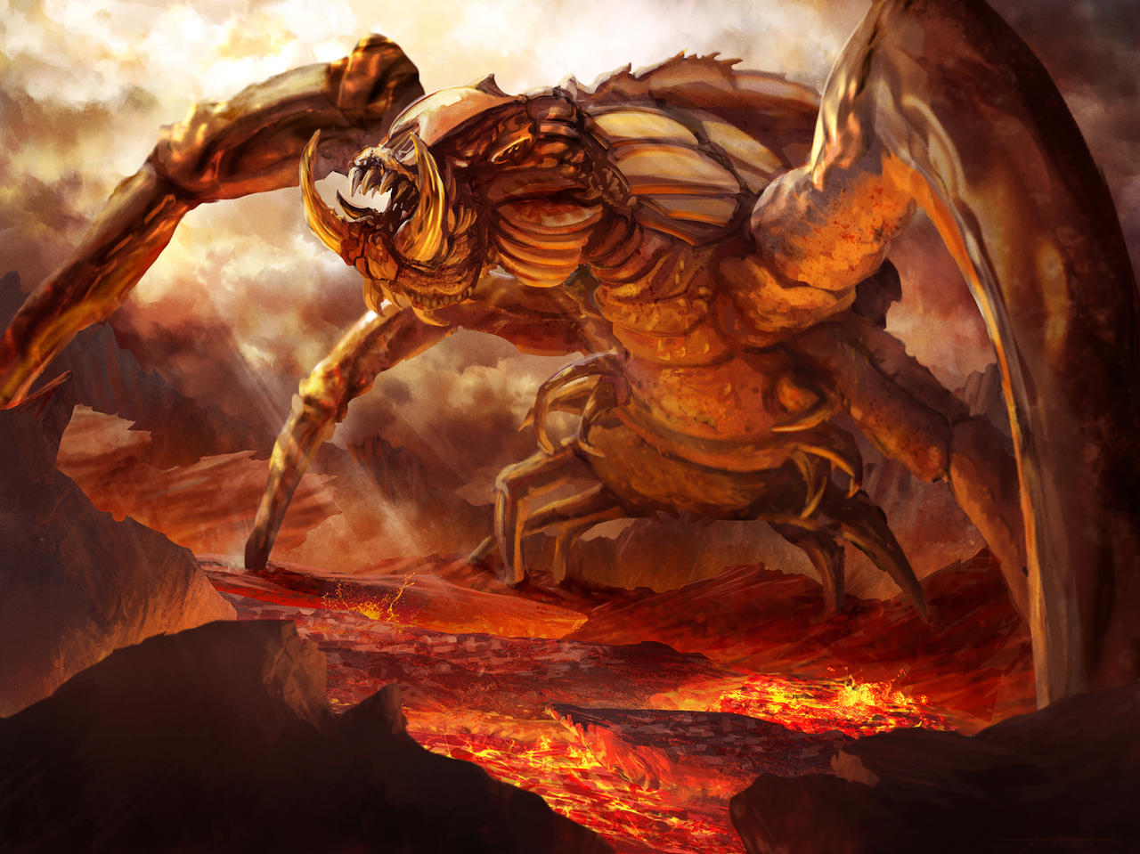 Furnace Wasp by JoshCalloway