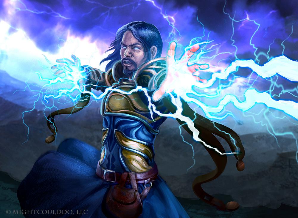 Lightning Bolt by JoshCalloway