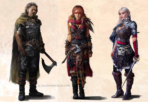 Fantasy Character Lineup