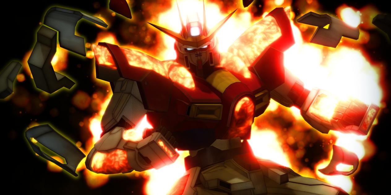 Try Burning Gundam By Mr Mecha Man On Deviantart