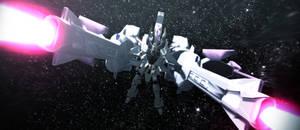 Freedom Gundam + Meteor Unit