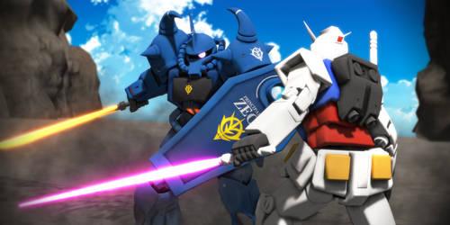 Gundam vs Gouf