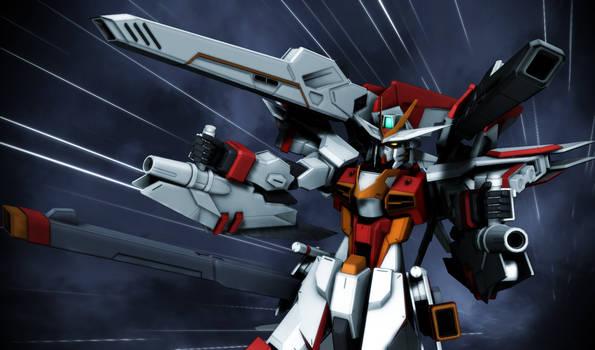 Freedom Gundam Flame Feder 3