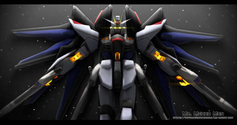 Strike Freedom Gundam 2