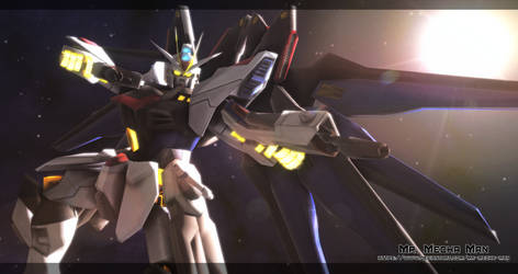 Strike Freedom Gundam 3
