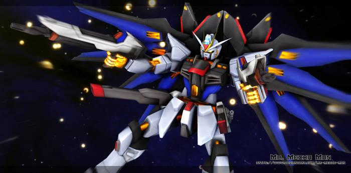 Strike Freedom Gundam 4