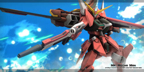 Infinite Justice Gundam 2 by Mr-Mecha-Man