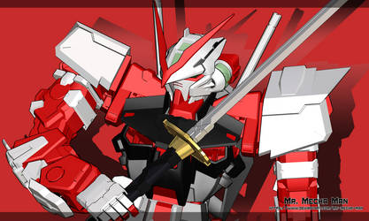 Astray Red Frame by Mr-Mecha-Man