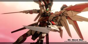Freedom Gundam Flame Feder 4