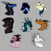PP-AU Headshot Batch 3 by Rosedwater