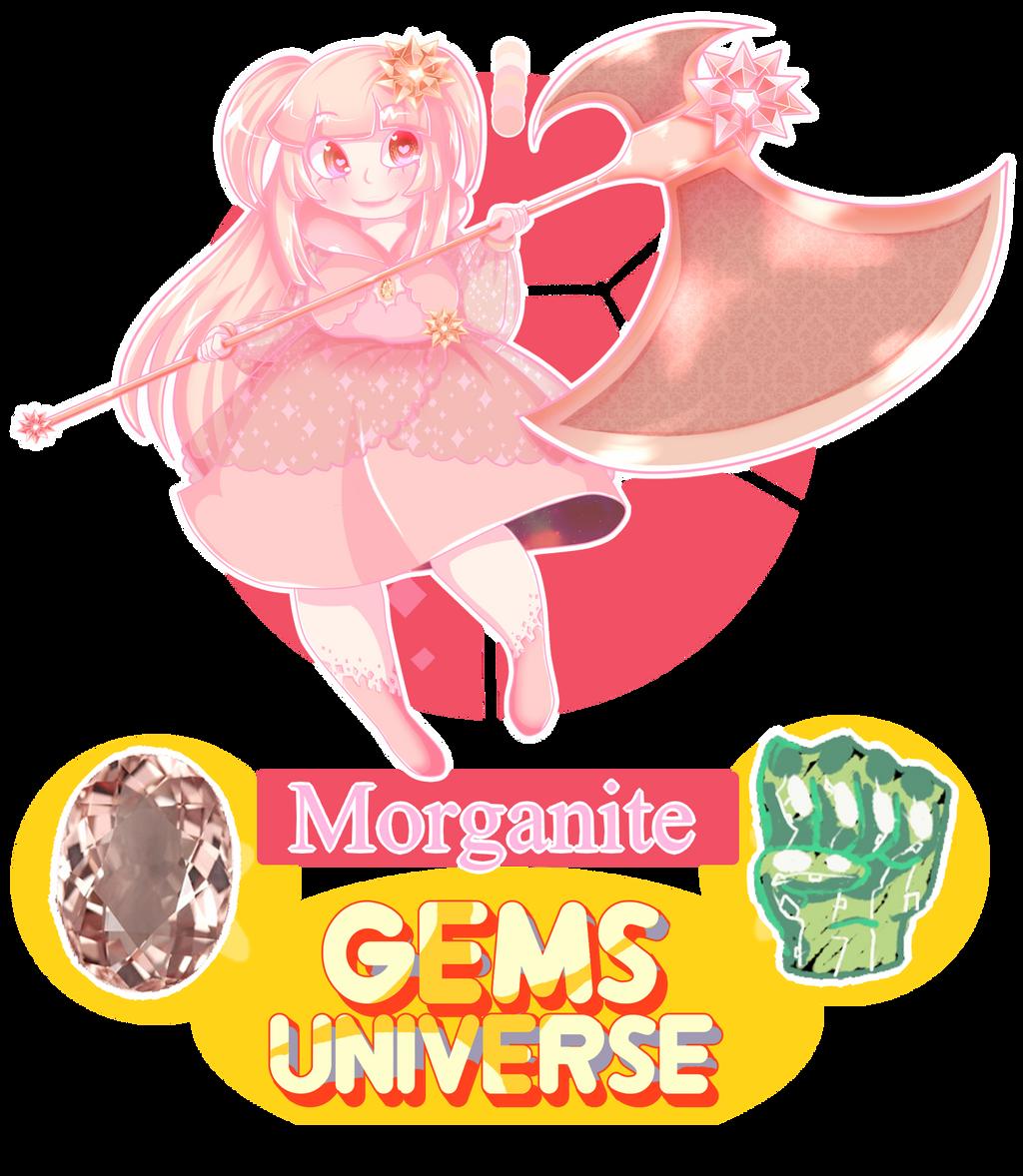APP Gems Univers-Morganite by ShojoJackalope