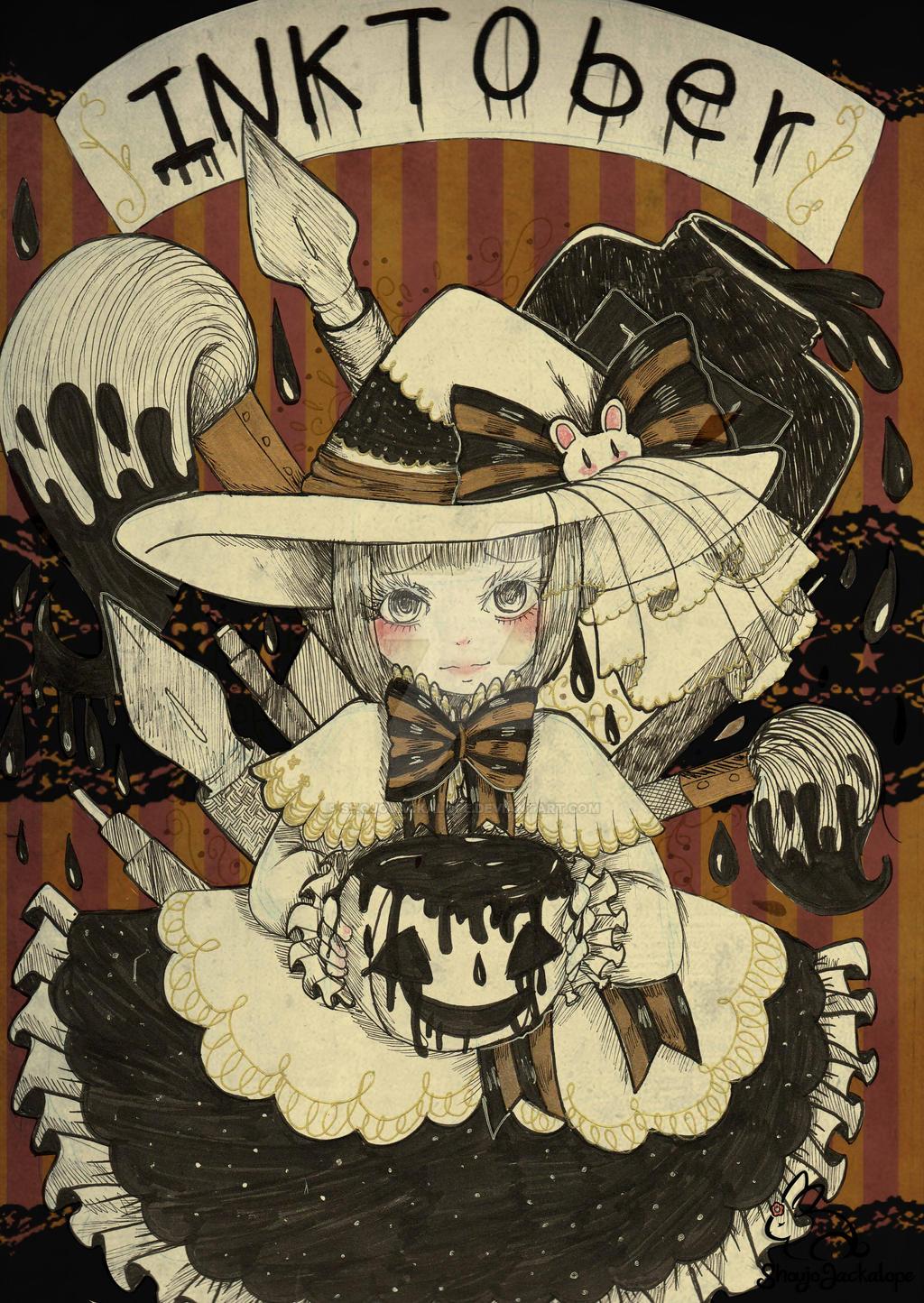 halloween entintado (?) by ShojoJackalope