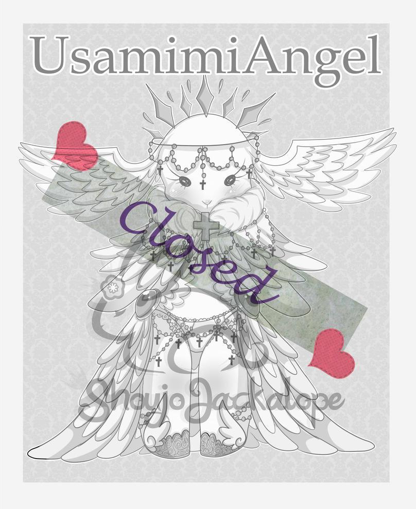 Adoptable Closed UsamimiAngel by ShojoJackalope