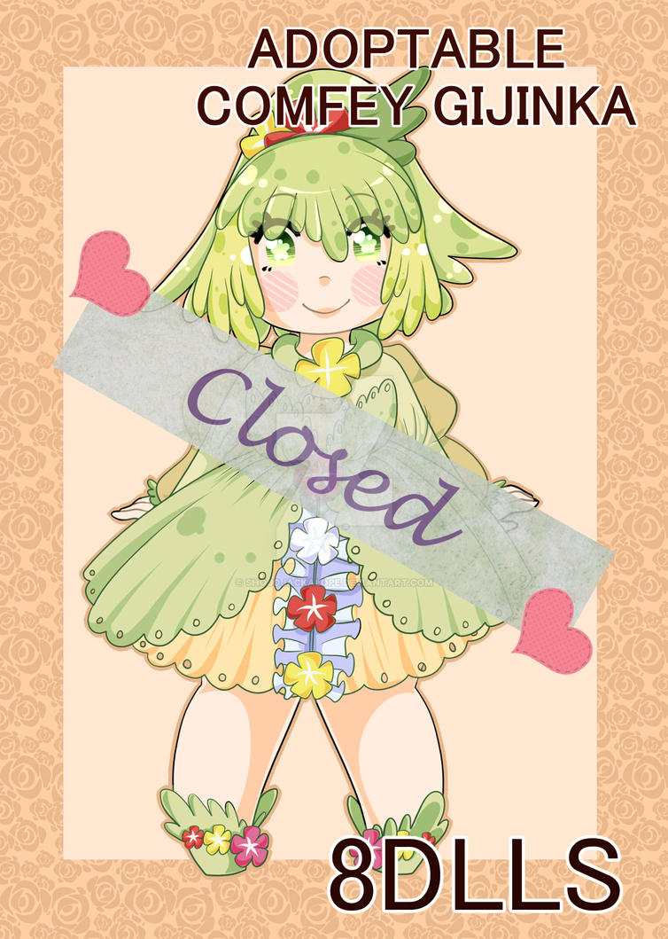 ADOPTABLE COMFEY GIJINKA CLOSED by ShojoJackalope