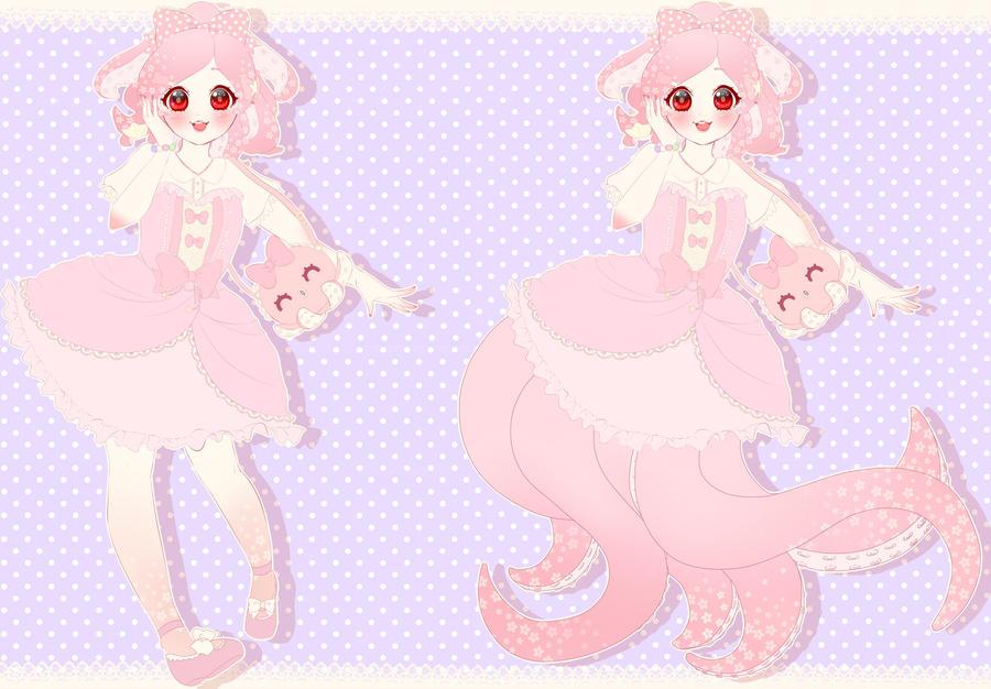 Monster Lolita Adopt Paypal Auction by ShojoJackalope
