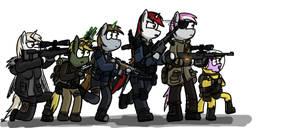 Six main characters