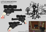 Lil' Macintosh Revolver Model
