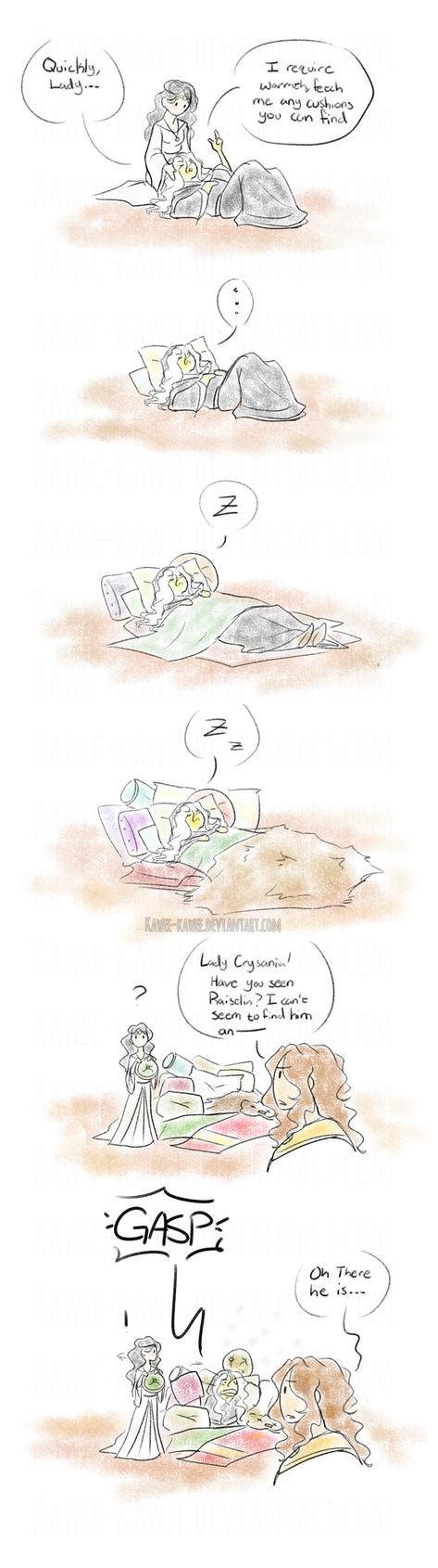 Crayonlance: Best Caretaker by Kawee-Kawee