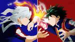 Todoroki and Deku from Boku no Hero Academia
