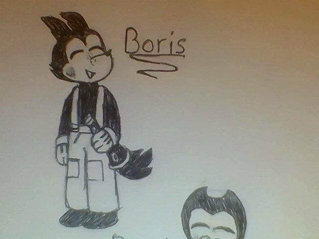 Boris the Wolf by MelodyTheBunny8