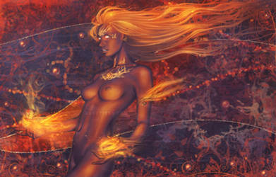 .:Fire Burns:. by Cyzra