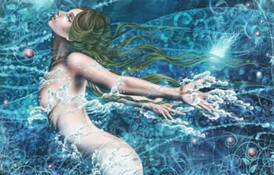 .:Water Flows:. by Cyzra