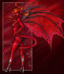 Fire Dragoness by Cyzra