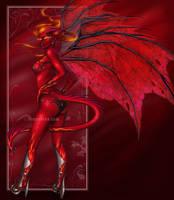 Fire Dragoness