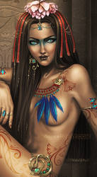 Egypt's Secret Jewel - closeup by Cyzra