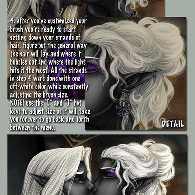 White Hair Tutorial by Cyzra