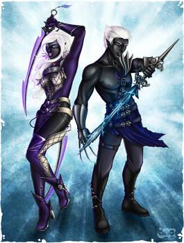 Drow Guardians by Cyzra