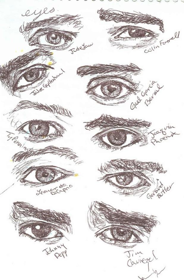 Men sexy eyes Top 20