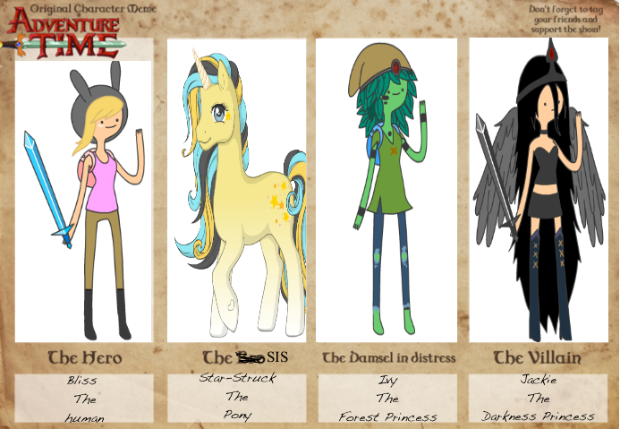 Character Design Adventure Time : Adventure time oc characters by unicorn on deviantart