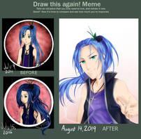 [OC] Draw This Again 3 by Elypsi