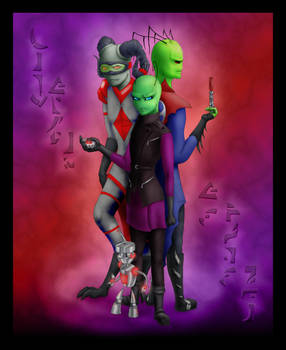 The Trio -coloring experiment-