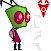 Pixel Zim by InvaderMax