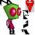 Pixel Zim by InvaderMax