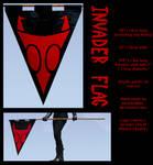 Invader Flag - Cosplay Prop