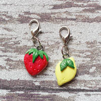 Strawberry Lemonade Charm Set