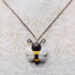 Bee Necklace by LizClaudia