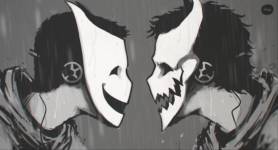 Twin Masks by hikaruga