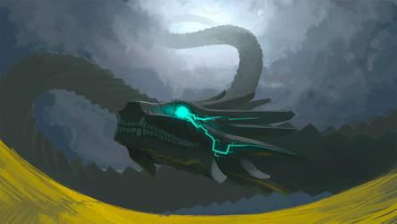 quetzalcoatl wip by hikaruga