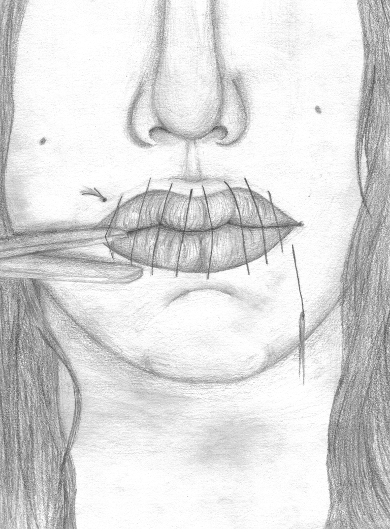 Melinda of Speak Book Drawings