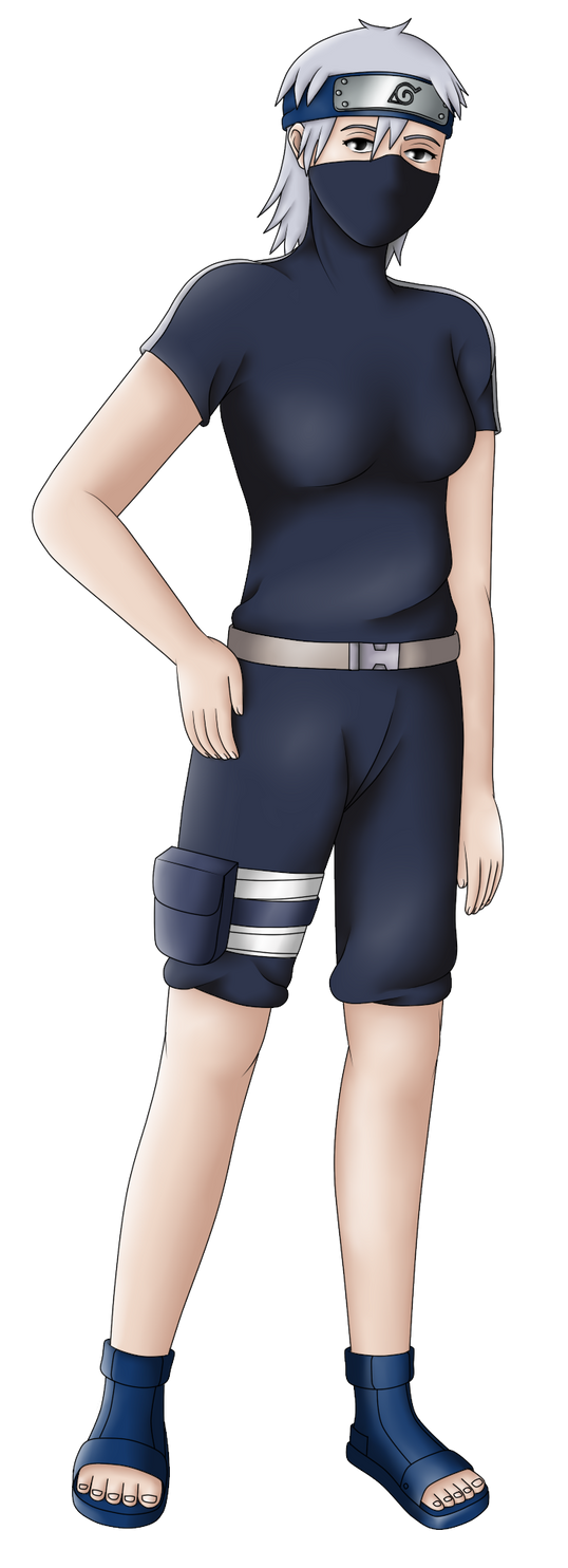 Kakashi Gaiden - Female Kakashi Hatake #2 by MSU82 on ...