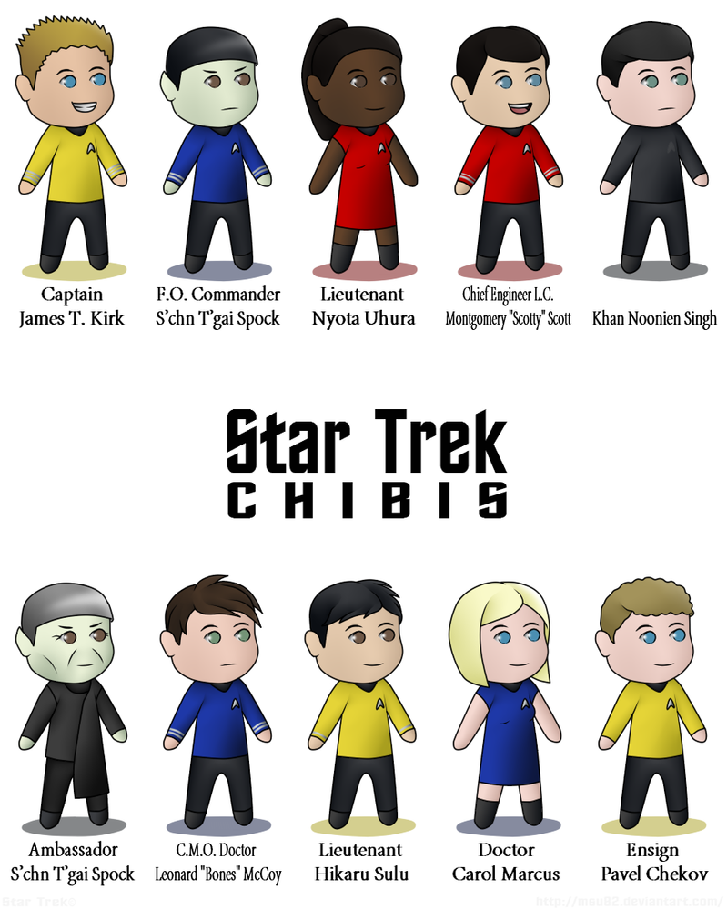 Star Trek: Starvation & Facebook | Our Process |Drawing Cute Cartoon Star Trek Kirk