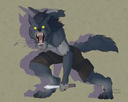 Beast Unleashed - Lilythekitsune Comm Art