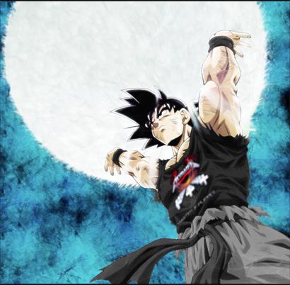 Goku Metallica by chemiklero
