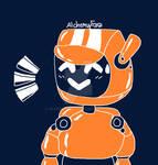 Little Orange Robot